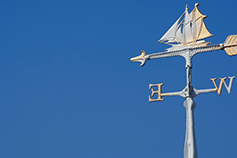 Fraud Barometer - photo of a weather vane