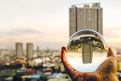 Look back, face forward: Real Estate 2019 market trends - Glass orb