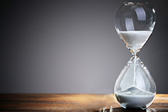 The time is now: Are you a metalsmith or 'gridmaster'? -  photograph of an hourglass
