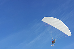 VAT recovery in case of unsuccessful takeover and abortive sale -photo of a person on a Parachute