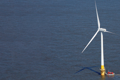 Offshore Wind Deal - Windmill in the sea