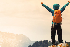 Defined contribution consolidation: Is everyone a winner - Climber on hill top