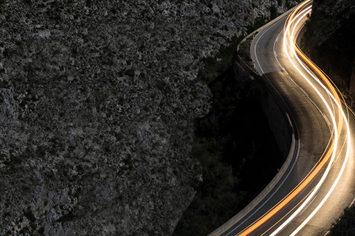 How consolidation can smooth the pensions journey - Road with lights