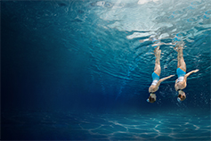 Changing Futures - Regulatory-driven transformation - syncro swimmers