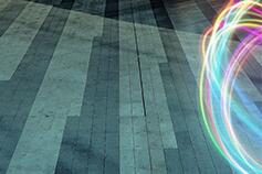 Pavement_with_neon_circle