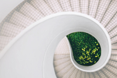 The changing face of ER - Spiral staircase