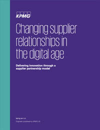 Changing Supplier Relationships in the Digital Age