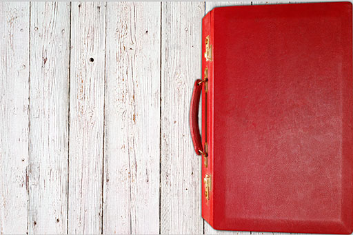 Budget 2020 - Red Suitcase