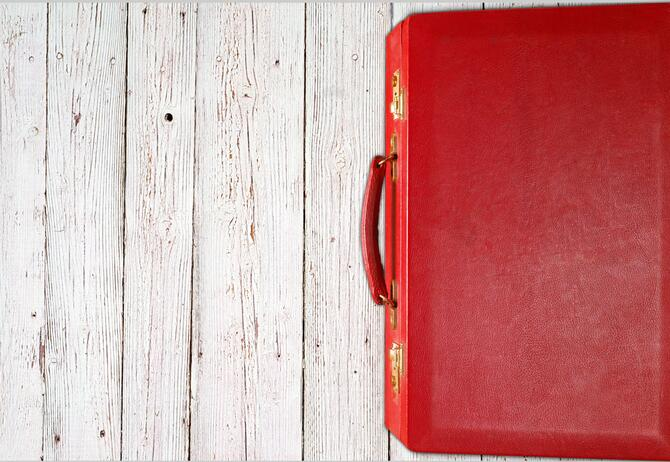 Budget 2020 - The chancellor's red budget box