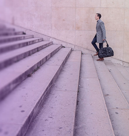 The CFO as a venture capitalist - Image of stairs
