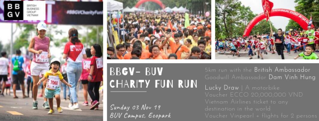 BBGV – BUV Charity Fun Run in Hanoi