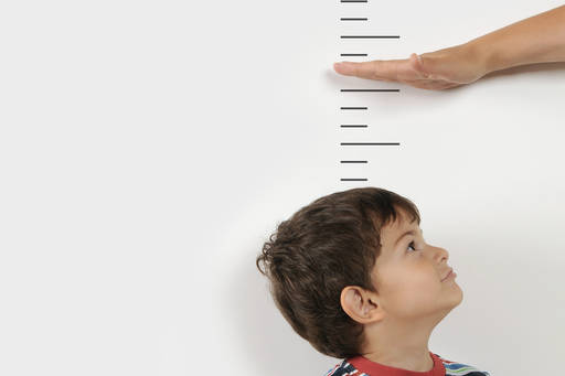 Measuring kids height