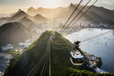 cable car in Brazil