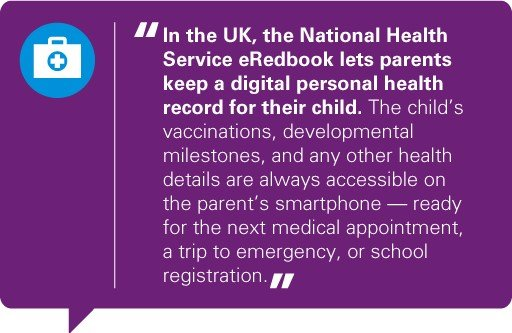 Quote infographic National Health Service