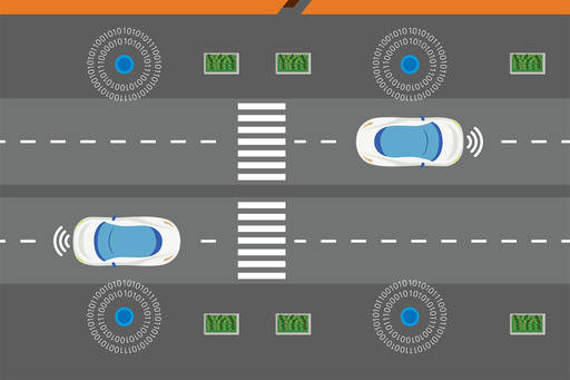 Autonomous vehicles road