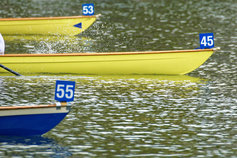 numbered boats