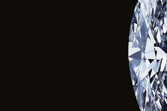 Oval picture diamond