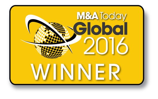 M&A today global awards 2016 winner