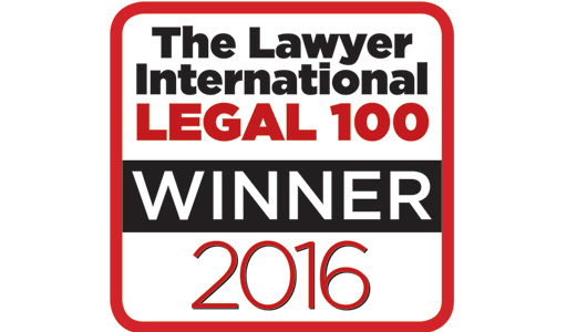 The Lawyer International – Legal 100