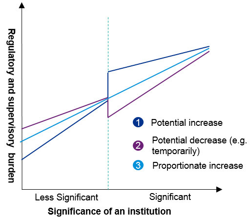 Potential effects of the transition from LSI to SI supervisionpotential-effects