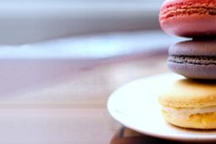 stacked macarons