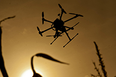 view-of-drone-flying-in-sky