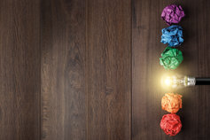 coloured-paper-balls-with-bulb