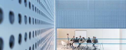 business people meeting in modern conference room