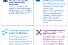Industry 4 new opportunities infographic