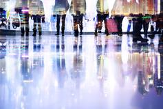 abstract-pedestrians-group-of-people-blurred-motion