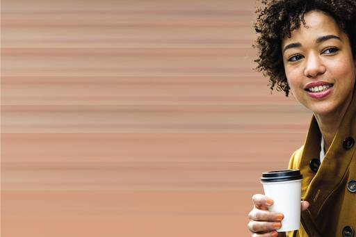 Accounting for leases is changing - women coffee cup