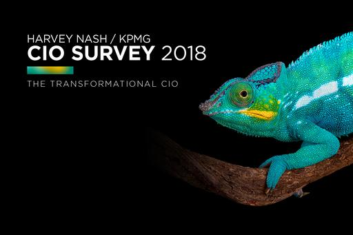 KPMG Harvey Nash CIO survey cameleon image