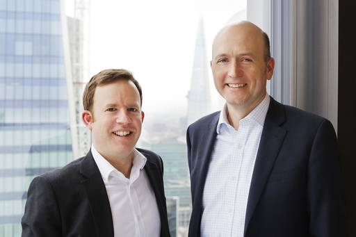 Sam White and Will McDonald of Aviva plc