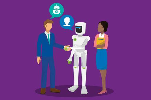 The future of HR - robot