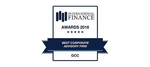 Best Corporate Advisory Firm - Awards 2018
