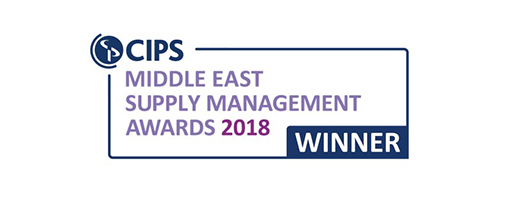 Best Procurement Consultancy Project - CIPS Middle East Supply Chain Management Awards, 2018