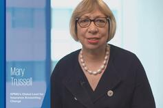 Mary Trussell speaks in KPMG's video on the Amendments to IFRS 17 Insurance Contracts