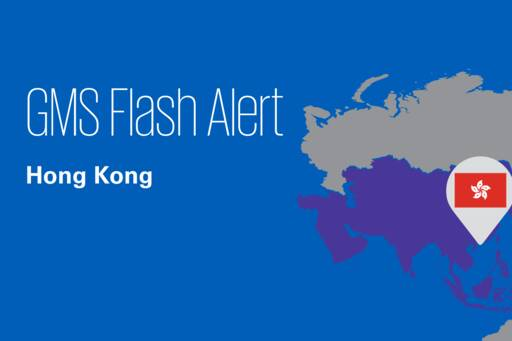 Flash Alert - Hong Kong