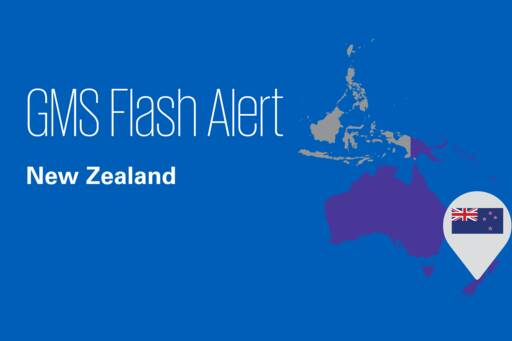 Flash Alert - New Zealand