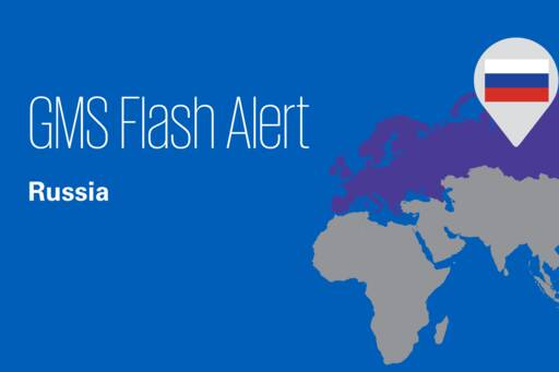 Flash Alert - Russia