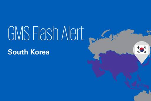 Flash Alert - South Korea
