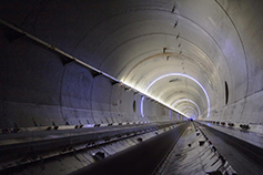 Hyperloop One tunnel view