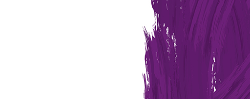 Purple paint brush strokes