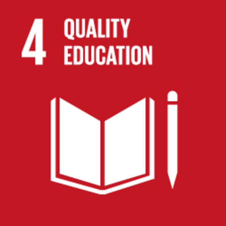quality education sdg icon