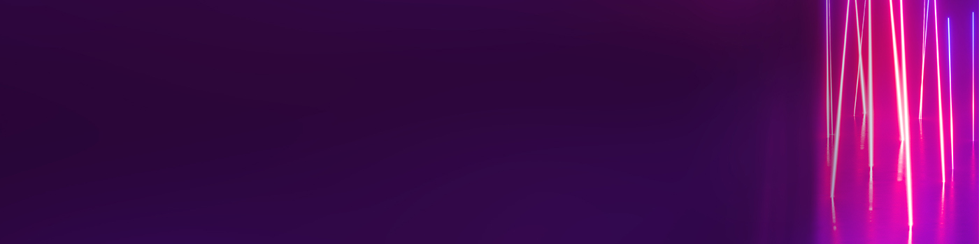 Purple background with coloured lines
