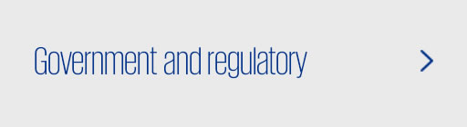 Government and regulatory'