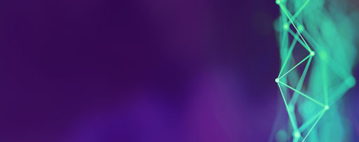 Green texture against purple background