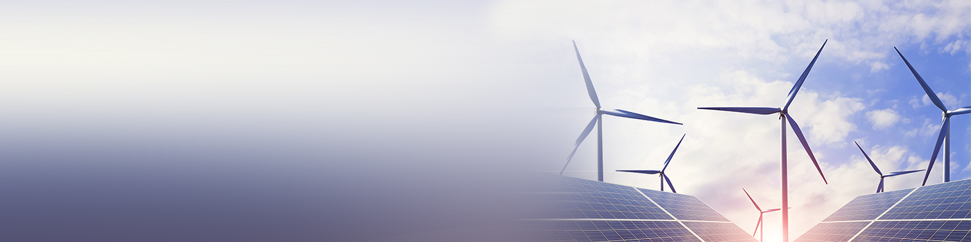 Clean energy, wind power and photo-voltaic power generation