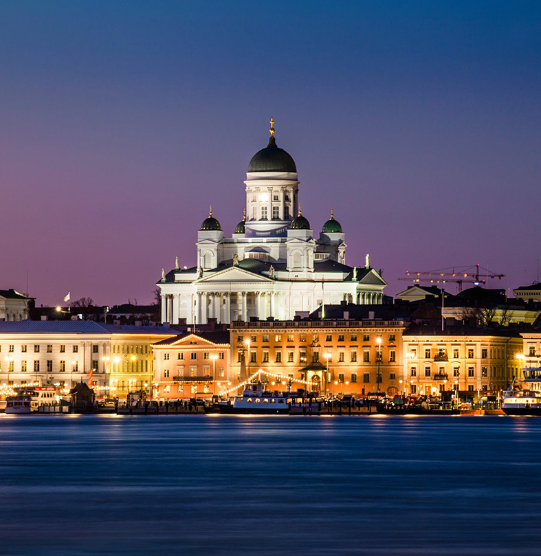 Cathedral night view, Helsinki