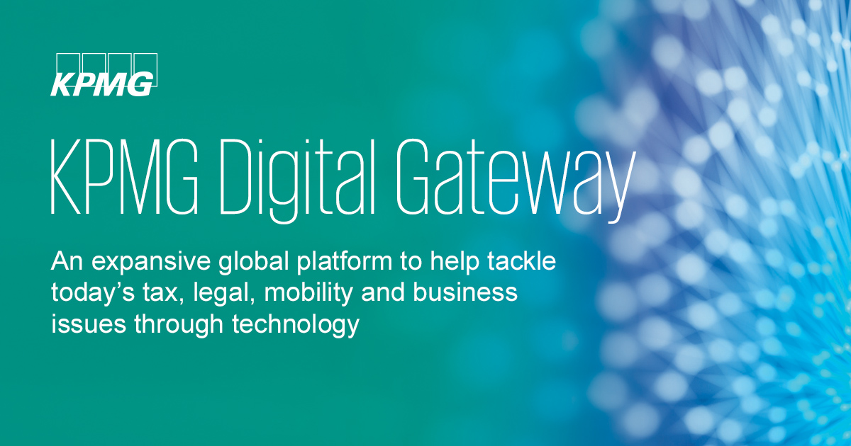 KPMG Digital Gateway, PDF cover